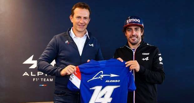 Alpine F1 Team renovou com Fernando Alonso para 2022