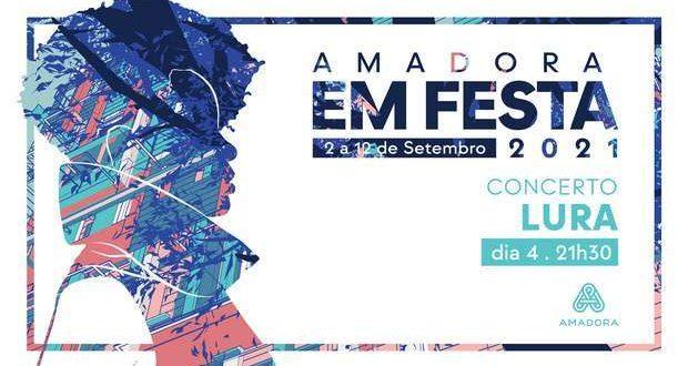 LURA em concerto no Cineteatro D. João V na Amadora