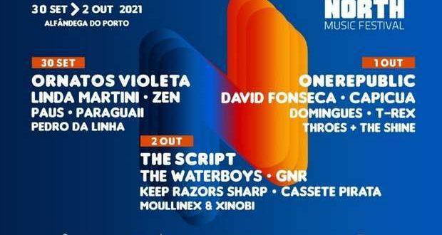O North Music Festival (NMF) confirma bandas