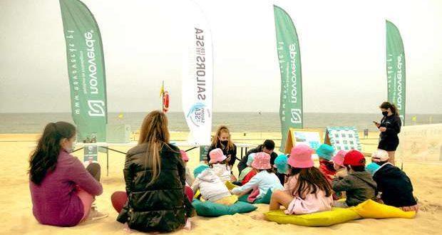 """""""Reciclar é a Nossa Praia"""" chega a 3200 pessoas"""