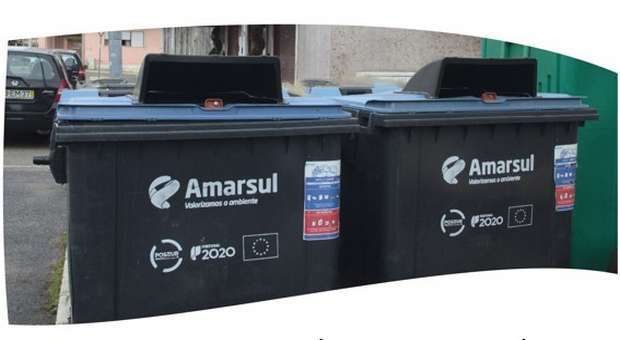 Amarsul adapta contentores de resíduos urbanos