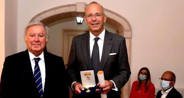 Sintra distingue Gilberto Jordan com medalha de Mérito