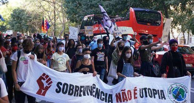 Marcha Mundial pela Justiça Climática em Lisboa