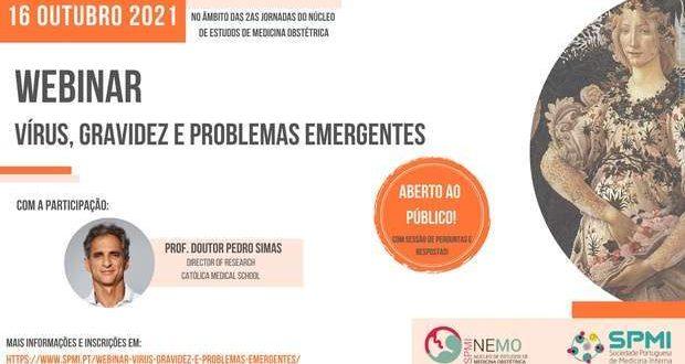Webinar sobre Gravidez Vírus e problemas emergentes